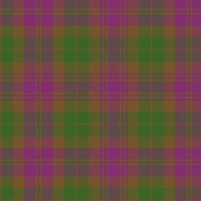 "Tyneside purple district / military tartan, 6"""