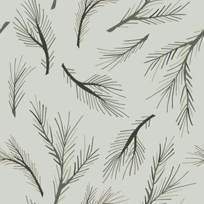 pine tree green wood forest branches design