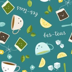 Best Tea Friends - Bes-teas - Teal