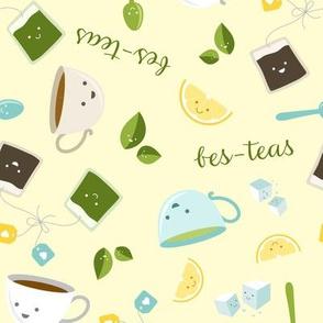Best Tea Friends - Bes-teas - Yellow