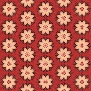 kaleidoscope_Indian Dreamcatcher red