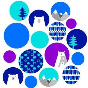 Polar Bear Christmas Pattern