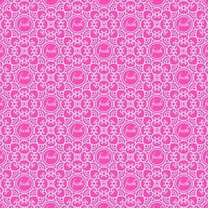 Delicately Speaking Deep Pink- Sm