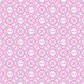 Delicately Speaking Deep Pink-Sm