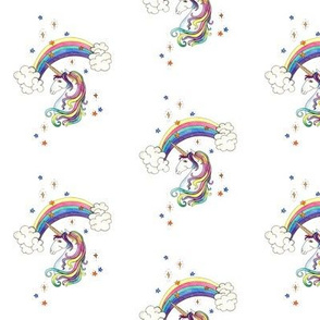 rainbow unicorns less