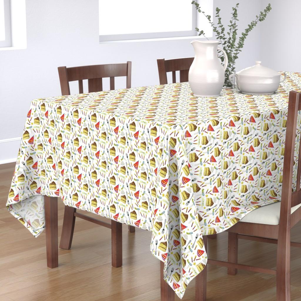 Bantam Rectangular Tablecloth featuring Happy_Birthday by pam_ash_designs