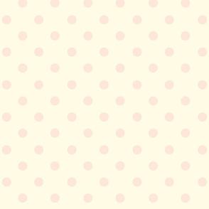 Polka Dot Peaches and Cream