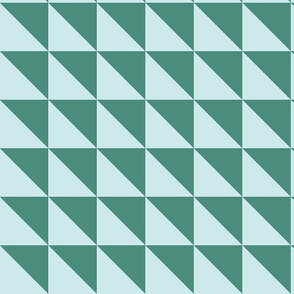 16-02ae Light blue green geometric Flags_Miss Chiff Designs