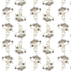 Mariachi Skeletons