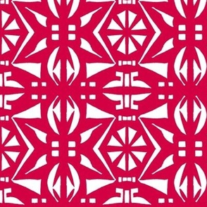 BELARUS PARTY PRINT Red