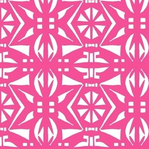 BELARUS PARTY PRINT  Island Pink