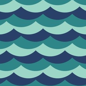 05684325 : scallop wave zigzags : choppy