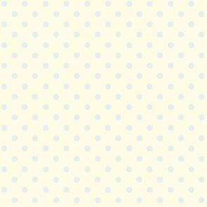 Polka Dot Claudette's Blue (Small)