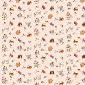 Mrs Mancini's Cakes (Peach Tart)