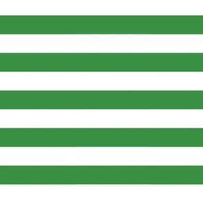 Big Green Horizontal Stripes