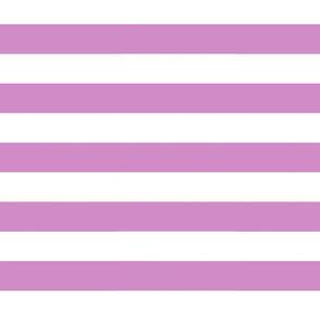 Big Purple Horizontal Stripes