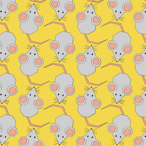 Mighty Mice on Yellow