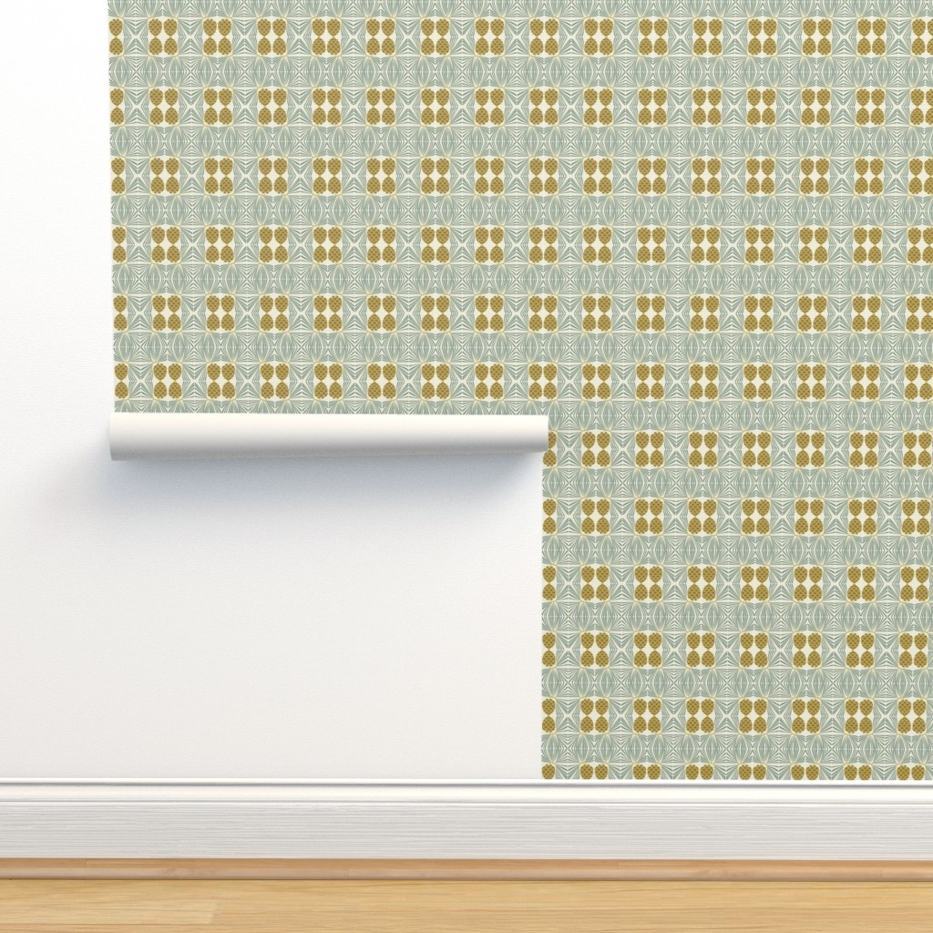 Isobar Durable Wallpaper featuring holiday pine lrg by cindylindgren