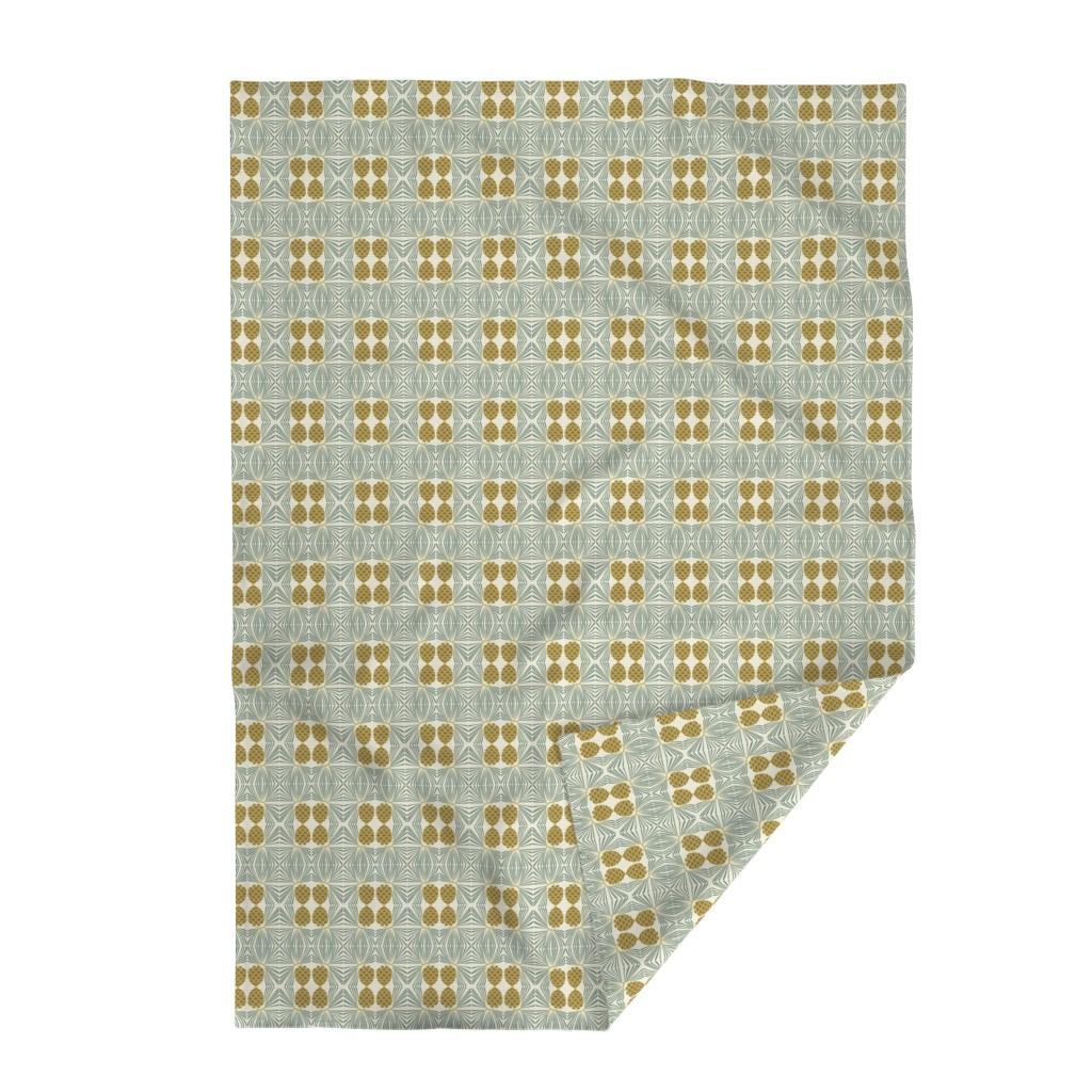 Lakenvelder Throw Blanket featuring holiday pine lrg by cindylindgren