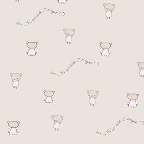 Micro pink bear