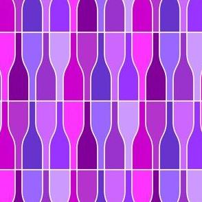 05687523 : ten violet bottles
