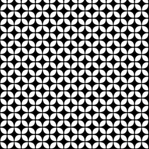 black + white diamond reversed
