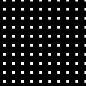 black + white squares reversed
