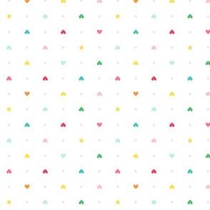 hearts stars :: colorful christmas