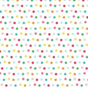 polka LG :: colorful christmas