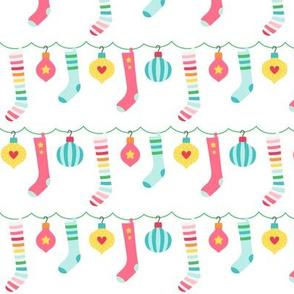 stockings :: colorful christmas