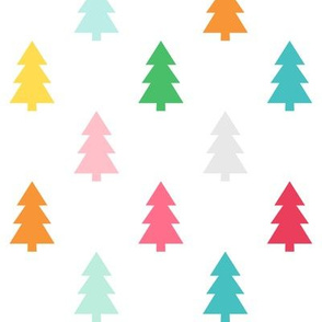 trees LG :: colorful christmas