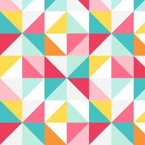 triangled LG :: colorful christmas