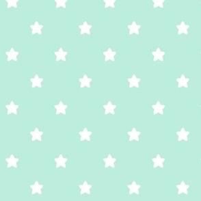 stars mint green LG