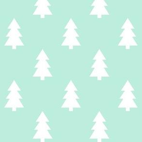trees mint green LG