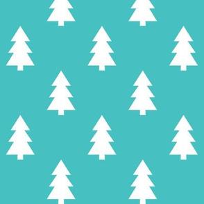 trees teal LG