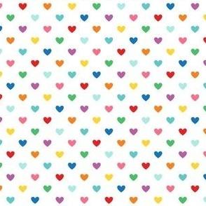 rainbow fun hearts