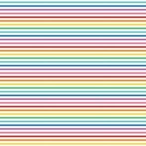 tiny rainbow fun stripes no1 horizontal