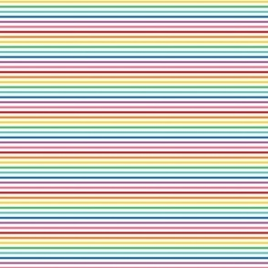 tiny rainbow stripes 1 horizontal