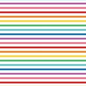rainbow fun stripes no1 horizontal