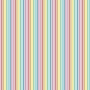 tiny rainbow stripes 1 vertical