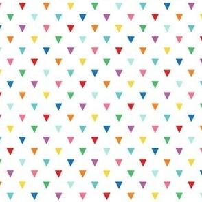 rainbow fun triangles