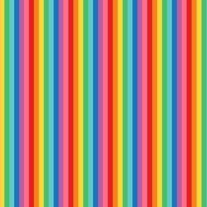 tiny rainbow fun stripes no2 vertical