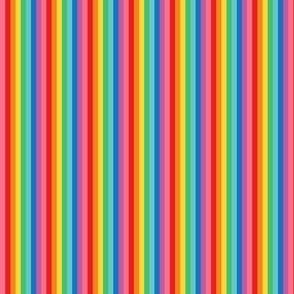 tiny rainbow stripes 2 vertical
