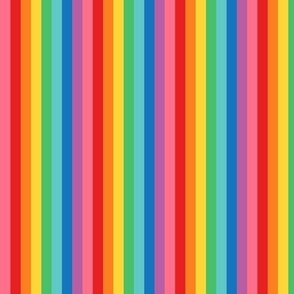rainbow stripes 2 vertical