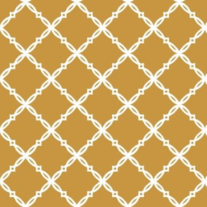 Blue and gold Team color Gold_Trellis