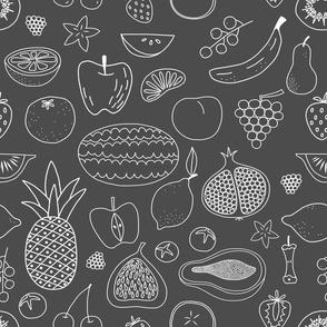 Fruit Chalkboard