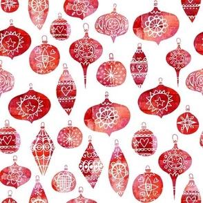 Retro Christmas Baubles
