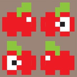 8-bit_Apples_Gray