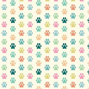 Paws of Many Colors