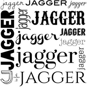 Personalized Jagger in Ink